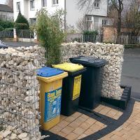 Mülltonnenabtrennung