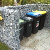 Mülltonnenumrandung